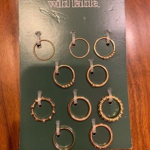 Wild Fable Set of 10 Rings
